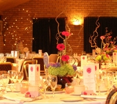 Wedding set-up - Pedlars Banqueting Suite